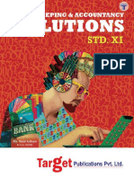 Std 11 Book Keeping and Accountancy Solutions