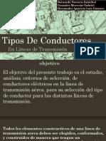 Tipos de Conductores