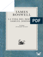Boswell, James - La Vida Del Doctor Samuel Johnson