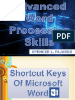 Advanced Word Processing