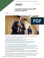 Ricardo Costa Tira de La Manta Contra El PP Ante La Fiscalía Anticorrupción