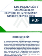 Tutorial Servidor de Impresion en Windows Server 2008