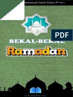Panduan Di Bulan Ramadhan