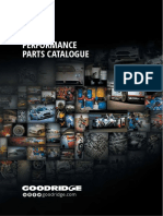 Goodridge Performance Parts Catalogue