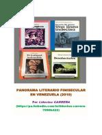 Liduvina Carrera Con Anotaciones Sobre Novelas Venezolanas (2010)