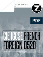 Cie Igcse French 0520 Znotes