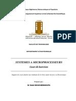 Cours Systèmes à microprocesseurs