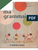 Ferry, Pierre, Ma Grammaire, Cours Élémentaire (1959)