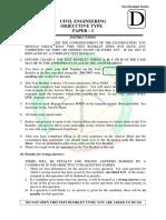 RRB Junior Engineer Civil solved model question paper 4.pdf
