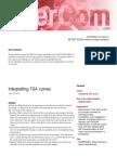 Interpreting TGA Curves