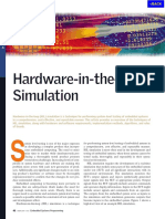 APP Hardware in the Loop Simulation