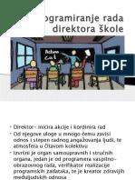 Programiranje Rada Direktora Škole