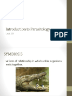 Introduction to Parasitology(2)