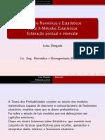 2010 - Morgado (AULA) - Estimação pontual e intervalar.pdf