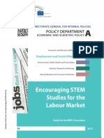 Encouraging STEM Studies for the Labour Market