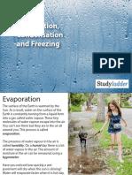 05 evaporation condensation and freezing  5 slides