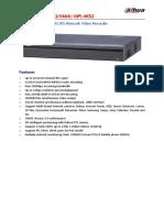 DH-NVR5416_5432_5464(-16P)-4KS21