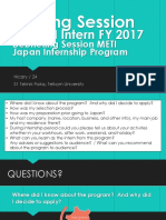 Sharing Session by METI Intern FY 2017_Hicary
