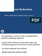 Accent Reduction -Powerpoint
