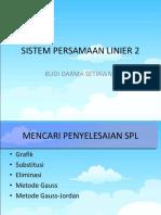 04 Sistem Persamaan Linier 2