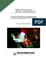 Welding Aluminum