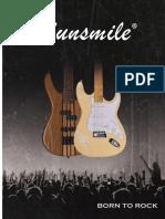 Sunsmile Guitars Catalog 2016