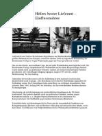 Bertelsmann - Hitlers Bester Lieferant – Gegenwärtige Einflussnahme