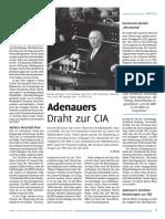 Adenauers Draht Zur CIA