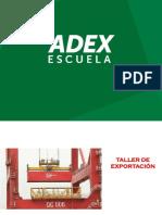 Taller de Exportacion -