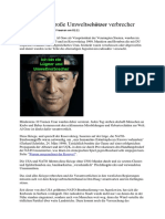Al Gore, Der Große Umweltschützer Verbrecher