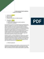 Avance 2. Esquema de Protocolo Estrés Académico