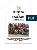 Apuntes Geologia General Capitulo 1