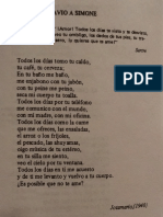 Poema de Jotamario Arbelaez-Desagravio a Simone
