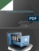 Arhivarea Electronica