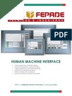 Human Machine Interface Mecatronica