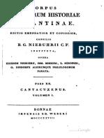1828-1897,_CSHB,_05_Ioannes_Cantacuzenus_Eximperatoris_Historiarum_Libri-Schopeni_Editio,_GR