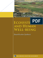 MEA_Ecosystems and Human Well-being_Desertification Synthesis