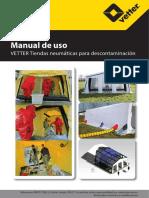 Manual de Uso Carpas Descontaminación Veter