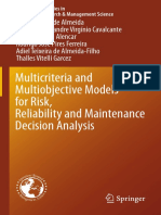 2015 - Almeida Et Al. - Multicriteria and Multiobjective Models for Risk, Reliability and Maintenance Decision Analysis