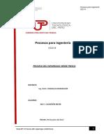 Proceso Del Esparrago