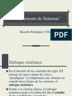 PENSAMIENTO DE SISTEMAS