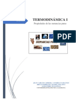 Termodinámica Prop Sustancias Puras