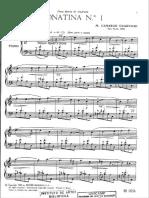 Camargo Guarnieri - Sonatina No 1 Para Piano