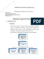Informe Hormigon Arquitectonico