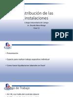 Distribución de Las Instalaciones Clase 12