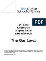 6th Year Chemistry the Gas Laws