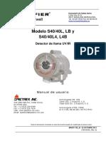 Manual Detector de Flama