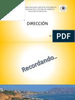 7. Direccion I - Dr. Miano.pptx