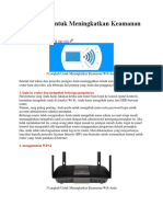 3 Langkah Untuk Meningkatkan Keamanan Wifi Anda