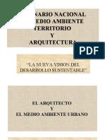 Arquitecto y medio ambiente